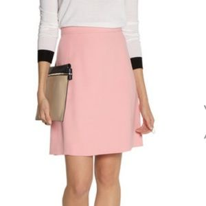 Chloe crepe a-line skirt